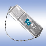 USB флеш-диск - A-Data PD4 Small Silver - 4Gb